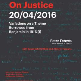 On Justice - 20/04/16