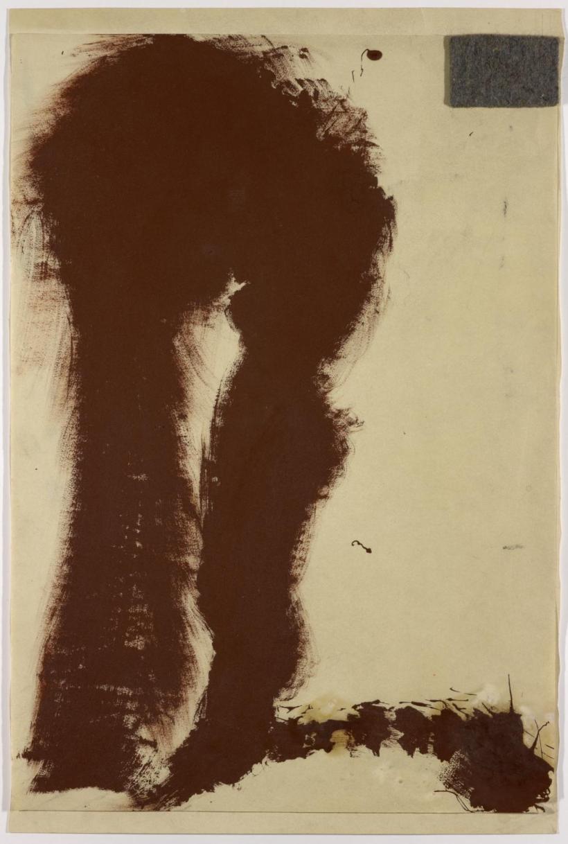 Felt Action 1963 by Joseph Beuys 1921-1986